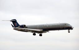 United Express regional flight Stock Photo
