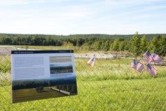 United Flight 93 stock images