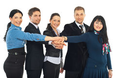 United group of business people Stock Photo