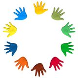 United hands Royalty Free Stock Photography