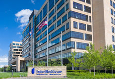 United Health Care Corporate Headquarters Campus Royalty Free Stock Image