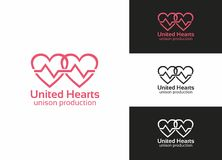 United Hearts Royalty Free Stock Images