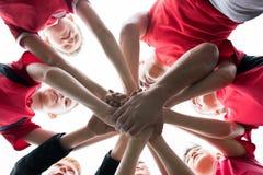 United Junior Team Stock Image