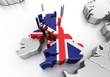 United Kingdom Royalty Free Stock Photo