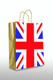 United kingdom bag Stock Images