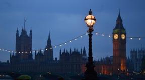 United Kingdom. Big Ben at night, London, Great Britain Royalty Free Stock Photos