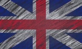 United Kingdom blackboard. Royalty Free Stock Photo