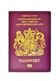 United Kingdom/ British Passport Stock Photo