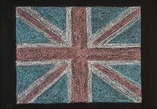 United Kingdom (British Union jack) flag Royalty Free Stock Image