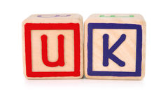 United Kingdom building blocks Stock Images