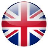 United kingdom button Royalty Free Stock Photo