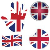 United Kingdom collection Royalty Free Stock Image