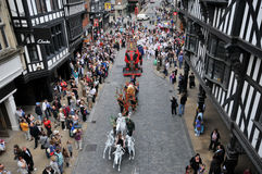 United Kingdom England Chester. And festival stock photography