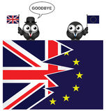 United Kingdom exit from the European Union Royalty Free Stock Images