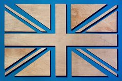United Kingdom flag, background, illustration, flag full royalty free stock photos