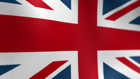 United Kingdom Flag 2 stock video