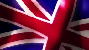 United kingdom flag britain. Video of united kingdom flag britain stock footage