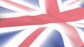 United Kingdom Flag. 3D United Kingdom Flag stock video footage