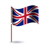 united kingdom flag design. United kingdom flag icon. Europe nation and government theme.  design. Vector illustration Stock Image