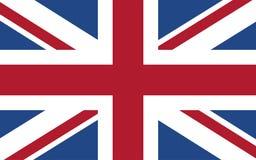 United Kingdom flag. Great Britain national symbol. British flag. Vector illustration Royalty Free Stock Images