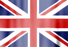 United Kingdom flag. Illustration of the United Kingdom flag Royalty Free Stock Photography