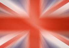 United Kingdom flag. United Kingdom official flag blurred royalty free illustration