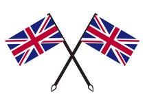United kingdom flag Stock Photo