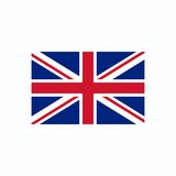 United Kingdom flag vector design Stock Photography