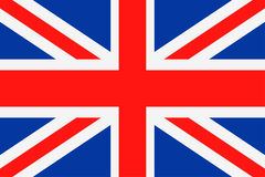 United Kingdom Flag Vector Flat Icon Stock Images