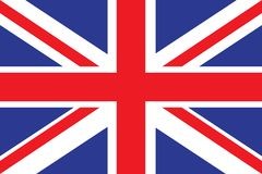 United Kingdom Flag vector illustration. United Kingdom Flag. Royalty Free Stock Photos