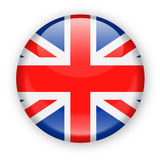 United Kingdom Flag Vector Round Icon Royalty Free Stock Photo