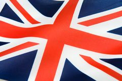 United Kingdom flagga Arkivfoton