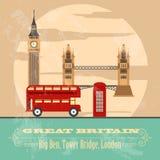 United Kingdom of Great Britain landmarks Stock Photo