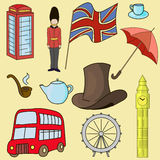 United kingdom of Great Britain symbols Royalty Free Stock Image