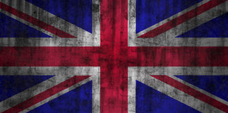 United Kingdom grunge flag Stock Image