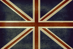The United Kingdom grunge flag Stock Photo