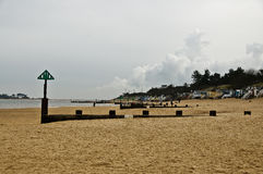 United Kingdom - Holkham. United Kingdom in pictures, beach, and beach houses at Holkham Stock Image