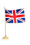 United Kingdom isolated. On white Royalty Free Stock Photo