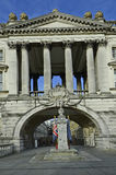 United Kingdom-London. Great Britain, London, war memorial in front of Somerset House Royalty Free Stock Image