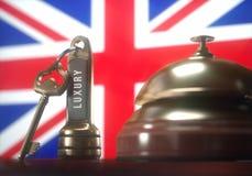 United Kingdom Luxury Hotel Royalty Free Stock Images