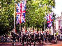United Kingdom Marching Band stock image