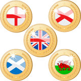 United Kingdom Medals Stock Image