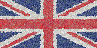 United kingdom mosaic Royalty Free Stock Photo