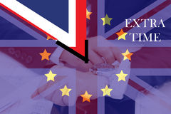 The United Kingdom out of membership from the European Union Royalty Free Stock Images