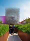 United Kingdom pavilion at Expo 2015 Stock Image