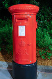 United kingdom red post box Royalty Free Stock Photography