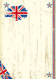 United Kingdom retro background Stock Image