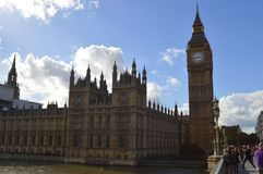 United Kingdom`s Parliament Royalty Free Stock Images