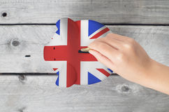 United Kingdom saving concept Royalty Free Stock Image