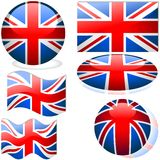 United Kingdom Set Stock Photos